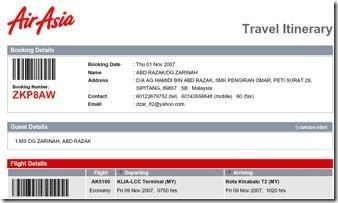 airasia-itinerary